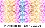 unique  abstract geometric... | Shutterstock .eps vector #1364061101