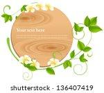vector illustration  spa ... | Shutterstock .eps vector #136407419