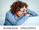 black woman can't get over... | Shutterstock . vector #1364110331