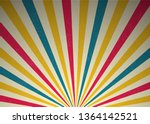 retro rays of light circus...   Shutterstock .eps vector #1364142521