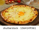 Delicious Pizza With Eggs And...