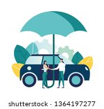vector illustration  car... | Shutterstock .eps vector #1364197277