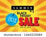 sale banner template design  80 ...   Shutterstock .eps vector #1364225084