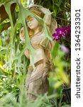 beautiful statue. beauty girl... | Shutterstock . vector #1364233301