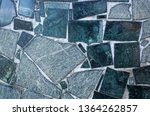 marble background with real and ... | Shutterstock . vector #1364262857