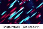 light neon seamless cover... | Shutterstock .eps vector #1364265344