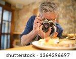 mature photographer taking...   Shutterstock . vector #1364296697