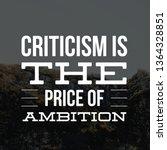 achievement quotes ... | Shutterstock . vector #1364328851
