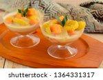indonesian food   kolak pisang... | Shutterstock . vector #1364331317