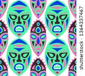 seamless background. tribal... | Shutterstock .eps vector #1364337467