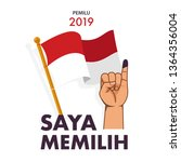 "saya memilih is ""i voted""... 