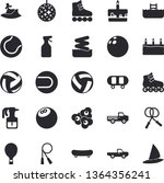 solid vector icon set   cake...   Shutterstock .eps vector #1364356241