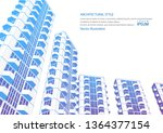 technical project of the city ...   Shutterstock .eps vector #1364377154