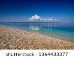 amazing seascape of adriatic... | Shutterstock . vector #1364433377