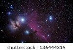 real astronomic picture taken...   Shutterstock . vector #136444319