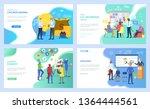 speaker vector  deer on... | Shutterstock .eps vector #1364444561