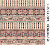 seamless pattern design with... | Shutterstock .eps vector #1364547344