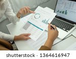 business accounting.accounting... | Shutterstock . vector #1364616947