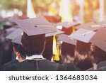 group of graduates during... | Shutterstock . vector #1364683034