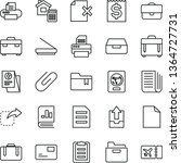 thin line vector icon set  ... | Shutterstock .eps vector #1364727731