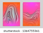 minimal banner templates with... | Shutterstock .eps vector #1364755361