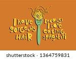 Fork With Spaghetti Cartoon...