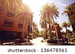 silicon valley streetview | Shutterstock . vector #136478561