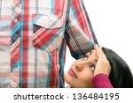 giant love. | Shutterstock . vector #136484195