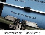 ready to get published | Shutterstock . vector #136485944