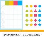 educational children game ...   Shutterstock .eps vector #1364883287