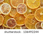 Dried Orange And Lemon Slices...