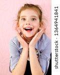 portrait of adorable smiling... | Shutterstock . vector #1364941841