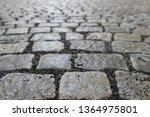an old stoneblock pavement...   Shutterstock . vector #1364975801