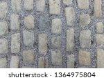 an old stoneblock pavement...   Shutterstock . vector #1364975804