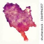 gjirokaster watercolor county... | Shutterstock . vector #1364996357