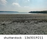 Par Beach Cornwall England Uk