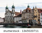 luzern  switzerland   march 31... | Shutterstock . vector #1365020711
