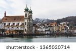 luzern  switzerland   march 31... | Shutterstock . vector #1365020714