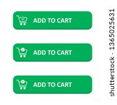 set of add to cart button in a... | Shutterstock .eps vector #1365025631