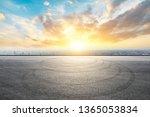 shanghai city skyline and... | Shutterstock . vector #1365053834