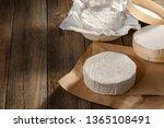 Unpacked Camembert Cheese On...