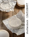 Unpacked Camembert Cheese On A...