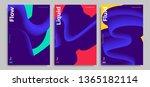 set of trendy abstract design... | Shutterstock .eps vector #1365182114