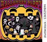 halloween | Shutterstock .eps vector #136529894