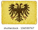 Vintage Flag Of The Holy Roman...