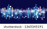 abstract virtual space... | Shutterstock .eps vector #1365345191