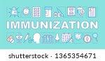 immunization word concepts...