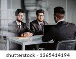 business meeting   three... | Shutterstock . vector #1365414194
