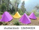 Camping At Forest On...