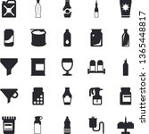 solid vector icon set   spice...   Shutterstock .eps vector #1365448817